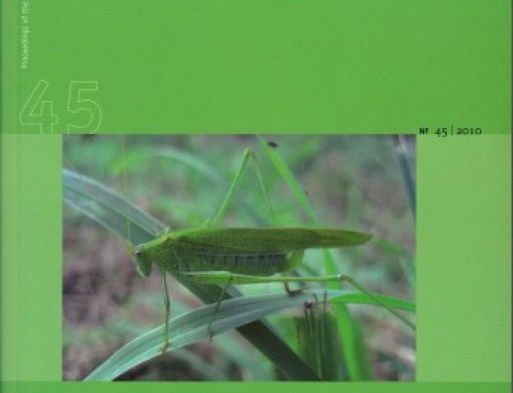 Verhandlungen, Band 45/2010